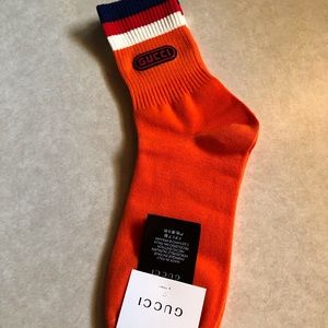 Gucci women's/men's socks. Fits 7 to 11. New.